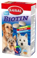 SANAL Biotin - kalciové tablety s biotinem 100g/100tbl.