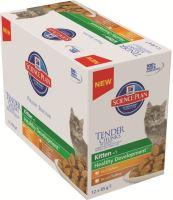 Hill's Feline kapsa Kitten Multipack kuře, krůta 12x85g