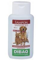 Pet šampon antiparazitární pes 200ml Dibaq