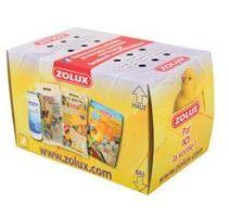 Přepravní krabice papírová pták 14cm Zolux