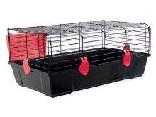 Klec SMALL ANIMAL Michal černá s výbavou 100x55x39cm