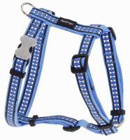 Postroj RD - Bones Reflexní - Středně Modrá