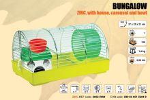 Klec BUNGALOW s plastovou výbavou 370x250x210mm