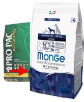 PRO PAC ULTIMATES Dog Mature Chicken & Brown Rice 21/12 12kg