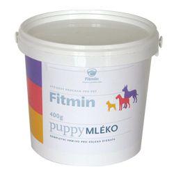 Mléko a kaše pro štěně