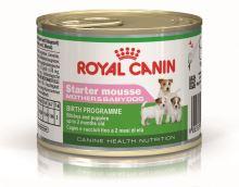 Royal Canin konzerva STARTER MOUSSE MOTHER & BABYDOG 195g